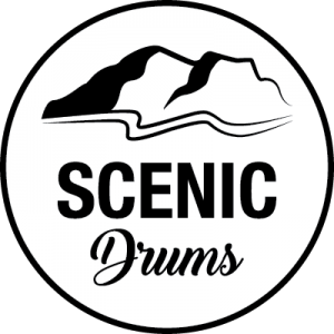 Scenic Drums Logo Circle