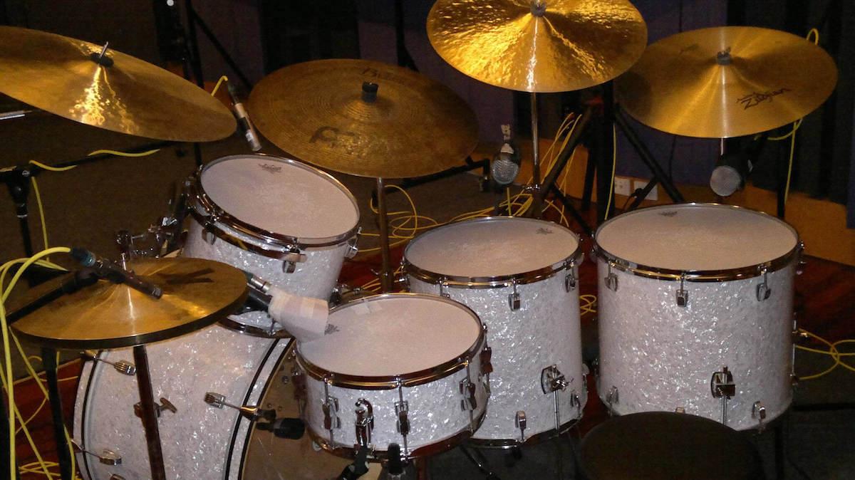 Ludwig Bonham Set Up