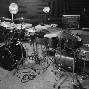 Session Drummer - Studio Equipment